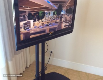 LG TV WITH STAND (sold)