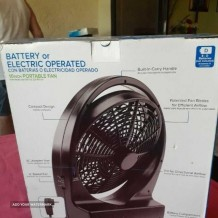 Fan  Battery / Electric operated