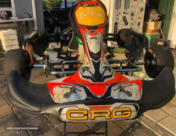 CRG KART ROLLING CHASSIS