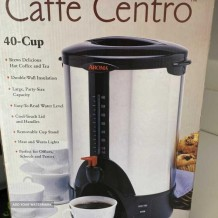 Coffee maker 40 cups Cafe Centro